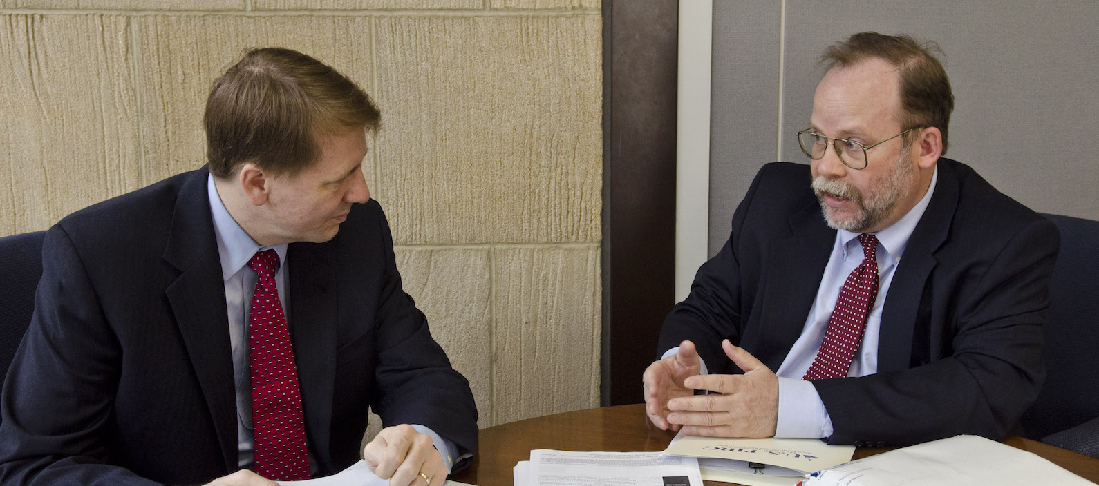 U.S. PIRG federal Consumer Program Director and Senior Fellow Ed Mierzwinski meets with CFPB director Richard Cordray